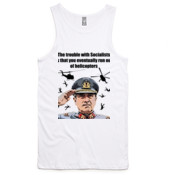 Pinochet - Helicopters - AS Colour - Mens Typo Singlet