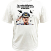 Pinochet - Helicopters - Quoz - Mens Wave Tee