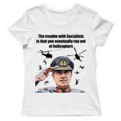 Pinochet - Helicopters - Ladies Tee - On Special!
