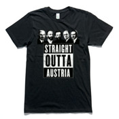 Straight Outta Austria - AS Colour - Organic Tee
