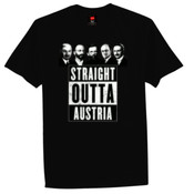 Straight Outta Austria - AS Colour - Slim fit Paper Tee