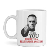 Jordan Peterson - Multivariate - High quality ceramic white mug