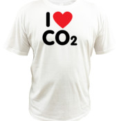 I Love Co2 - Quoz - Mens Wave Tee