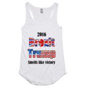 Smells Like Victory - AS Colour - Dash Singlet Racer Back