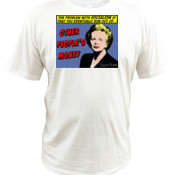 Margaret Thatcher - Other People's Money - Quoz - Mens Wave Tee
